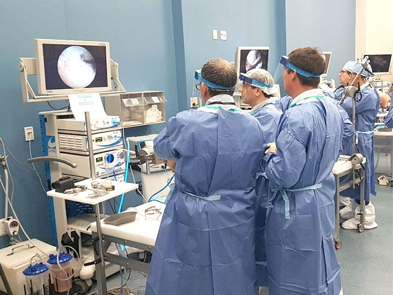SAI presente en laboratorio cadavérico de CONMED